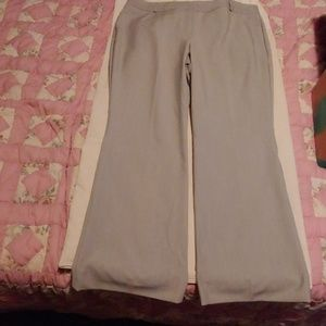 Gray dress slacks